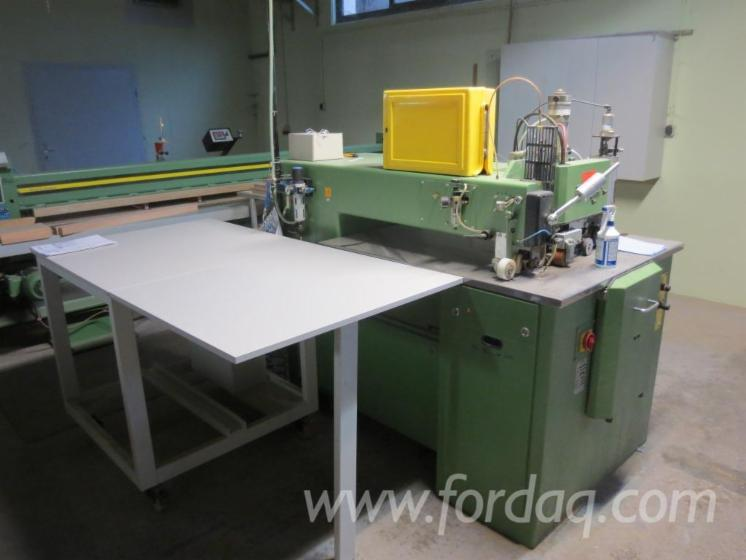 Used-1996-KUPER-FW-L-920-Veneer-splicing-machine-for-sale-in
