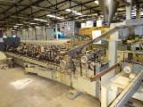 Woodworking Machinery Romania - Used 2005 Aguirrezabala Spania  Bikain Aplicare furnir pe elemente profilate in Romania