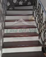 Stairs Finished Products - Maple (European Common Maple) Stairs from Romania