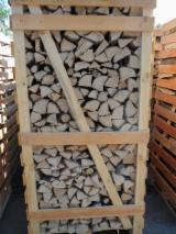 Firewood, Pellets And Residues - Kiln dried oak firewood in 2RM boxes