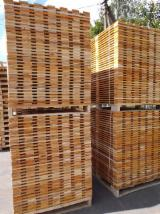 Wholesale Wood New Spruce Picea Abies - Whitewood - Pallet, New