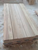 Hardwood  Unedged Timber - Flitches - Boules - Ash lumber