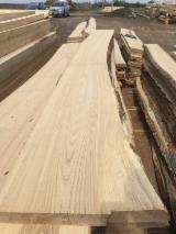 Hardwood  Unedged Timber - Flitches - Boules - White ash offer