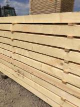 Softwood  Sawn Timber - Lumber - We sell all sizes spruce and pine timber