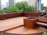 Exterior Decking  - Hardwood decking available