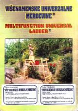 Spruce  - Whitewood Stairs - Multifunction universal ladder ( Protected and patented )