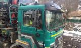 Oprema Za Šumu I Žetvu - Kamion Za Prevoz Dužih Stabala MAN Polovna 1996 Rumunija