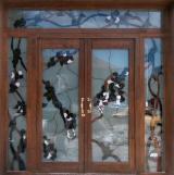 Двері, Вікна, Сходи - Європейська Хвойна Деревина, Двері, Ялина  - Біла