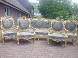 Find best timber supplies on Fordaq Antique amazing set of 4 chairs in Rococo style