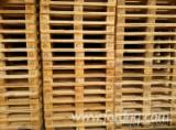 Wood Pallets - Used Softwood EPAL/ EUR Pallets, 1st and 2nd Choice
