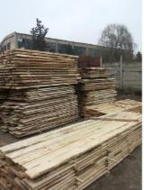 Softwood - Sawn Timber - Lumber - Planed timber (lumber)  Supplies - 25; 50 mm Air Dry (AD) Fir/Spruce in Romania