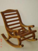 Living Room Furniture - Solid wood rocking chair