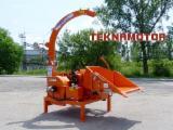 Forstmaschinen Trommelhacker - Holzhacker Teknamotor Skorpion 280 RBG