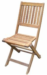 Garden Furniture Contemporary - Wooden Folding Chair, Acacia wood