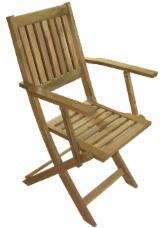 Garden Furniture Contemporary - Wooden Folding Armchair, Acacia wood