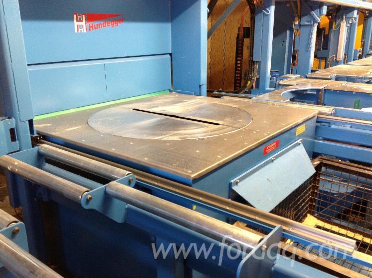 Used Hundegger K2i 1250+Robot 2012 CNC Machining Center ...