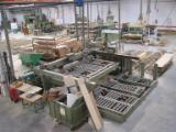 Holzbearbeitungsmaschinen Spanien - Gebraucht MACMAZZA Plattenaufteilanlagen - Horizontale in Spanien
