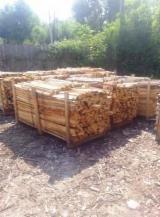 Energie- Und Feuerholz Eiche - Eiche Brennholz Gespalten -- mm