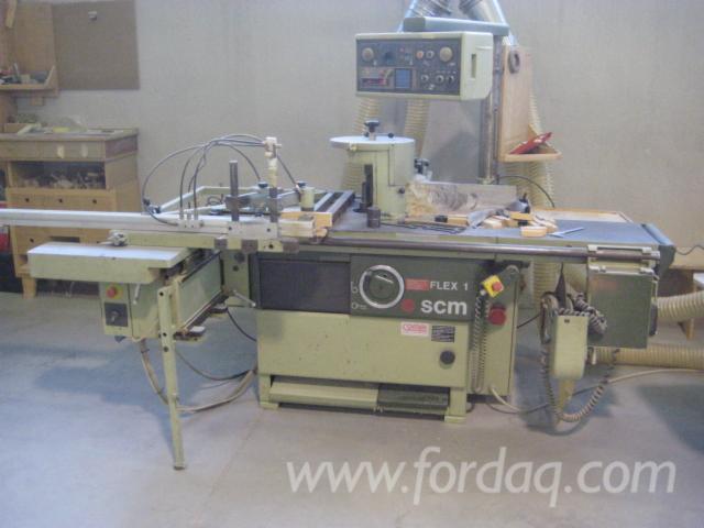 Spindle moulder SCM model FLEX1 electronic