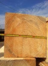 Sawn And Structural Timber Fir Spruce - 300 mm Fresh Sawn Fir/Spruce Beams Romania