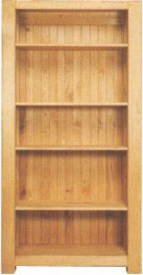 Living Room Furniture - bookcase from oak