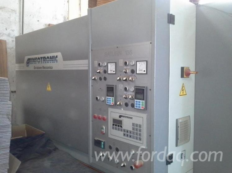 Used-2003-INFOTRONIC-SATURN-135-R-R-KS-Wide-belt-sander-for-sale-in