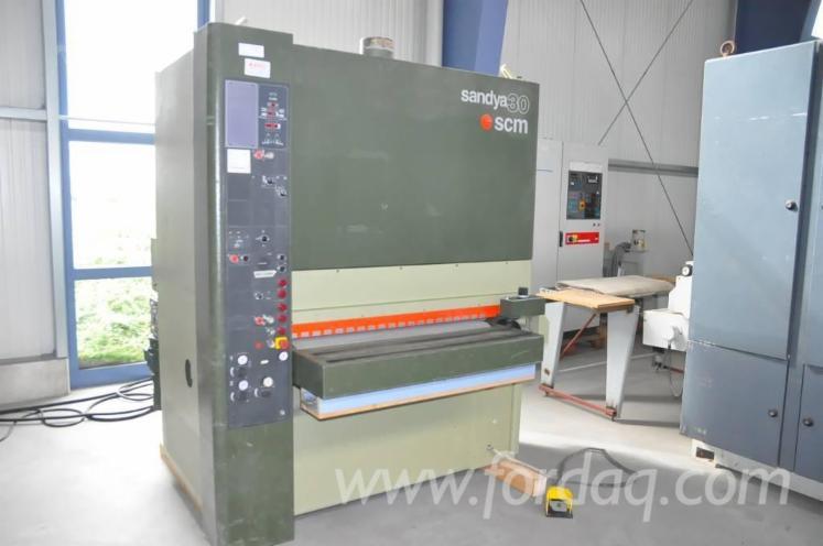 Used-1994-SCM-SANDYA-30-RT-110-Wide-belt-sander-for-sale-in