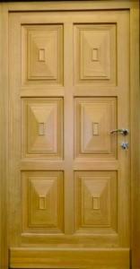 Doors, Windows, Stairs - Softwoods, Doors, Fir (Abies alba, pectinata)