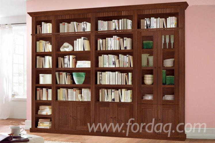 Venta estante tradicional madera blanda europea abeto - Biblioteca madera blanca ...