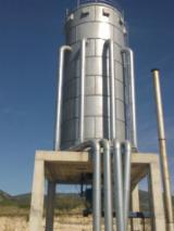 Greece Supplies - Energy feeding line for 5-kiln dryers 300 m3 plus a beach steamer 60m3