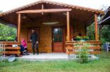 Holzhäuser - Vorgeschnittene Fachwerkbalken - Dachstuhl Zu Verkaufen - Fichte  - Weißholz