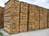 Hardwood  Unedged Timber - Flitches - Boules - Sorted and bundled , Oak (European )