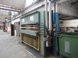 Used Friz 1995 Hand Fed Veneering Presses For Flat Surfaces For Sale in France