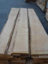 Hardwood  Unedged Timber - Flitches - Boules For Sale - Beech lumber, 22mm, unedged, KD