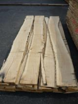 Hardwood  Unedged Timber - Flitches - Boules For Sale - Loose, Oak (European), PEFC/FFC