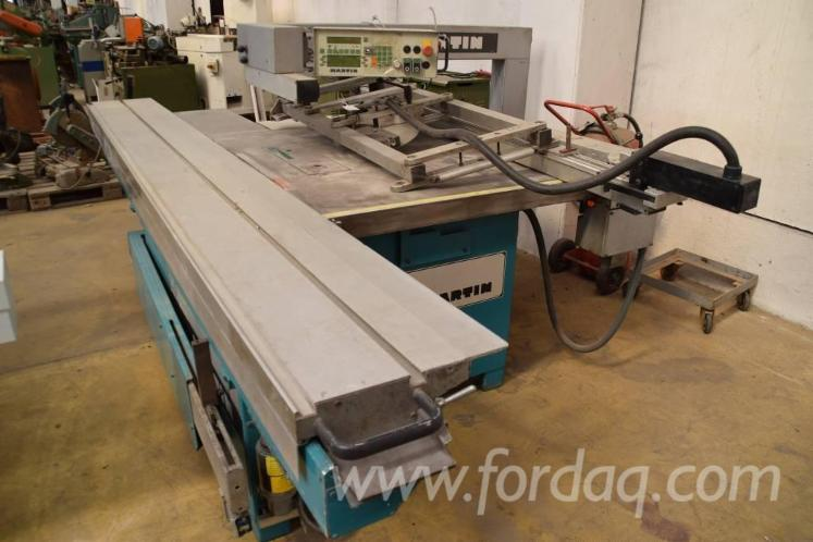 Used 1999 Martin T 72 A Automatik Sliding Table Saw For Sale In Germany
