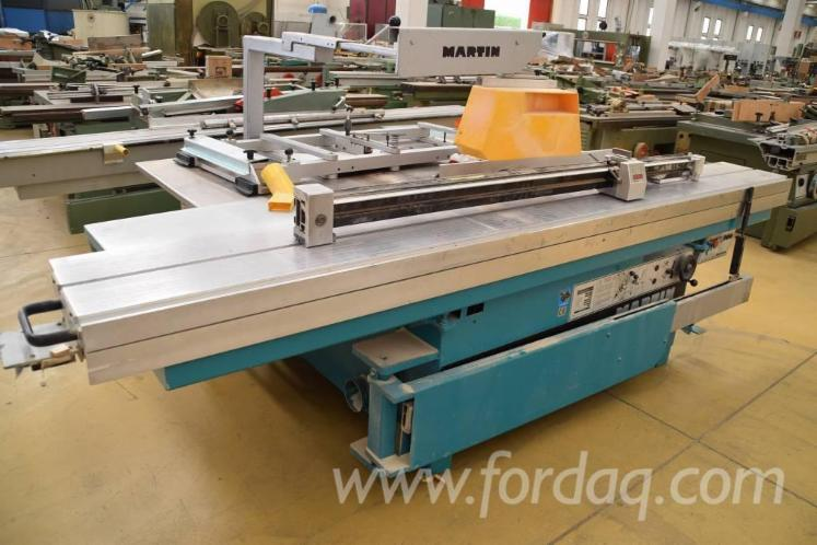 Used 1998 MARTIN T 72 A Sliding table saw for sale in Germany