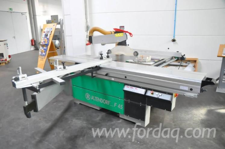 Used 1999 Altendorf F45 Ce Sliding Table Saw For Sale In Germany