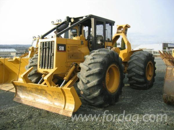 Used null Caterpillar 518 Skidders for sale in Canada