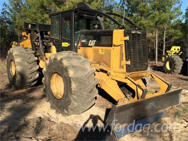 Used-2013-Caterpillar-545C-Skidders-for-sale-in-United