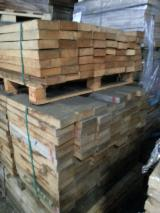 Hardwood  Sawn Timber - Lumber - Planed Timber Oak European - French Oak, 4 sides clear quarter sawn, KD, 41x 400-1400 mm, 6 m³