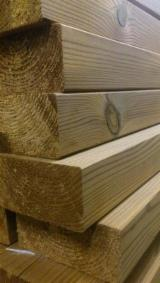 Softwood - Sawn Timber - Lumber - Planed timber (lumber)  Supplies Thermo Pine lumber