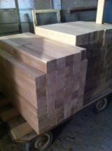 Hardwood  Sawn Timber - Lumber - Planed Timber Oak European - Squares, Oak (European)