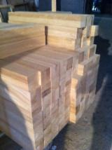 Hardwood  Sawn Timber - Lumber - Planed Timber For Sale Ukraine - Oak glued parts for furniture and stairs