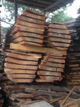 Hardwood  Unedged Timber - Flitches - Boules - Loose, Oak (European)