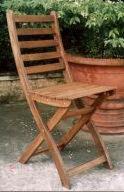 Garden Furniture - Folding chair, Acacia Wood