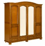 Traditional Bedroom Furniture - Traditional Beech Wardrobes Romania