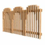 Pine  - Redwood Garden Products - Fence
