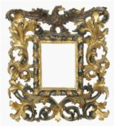 Hall Teak - Reproduction of Frame & Furniture (Hand Made & in Solid Wood) Finishes Gilded in Gold Leaf Antique Style