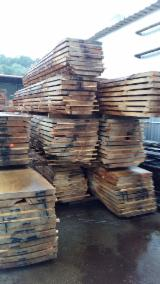 Hardwood  Unedged Timber - Flitches - Boules - Oak Boules from Croatia for sale